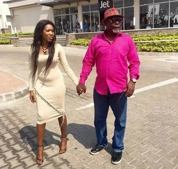Kofi Adjorlolo With Victoria Lebene
