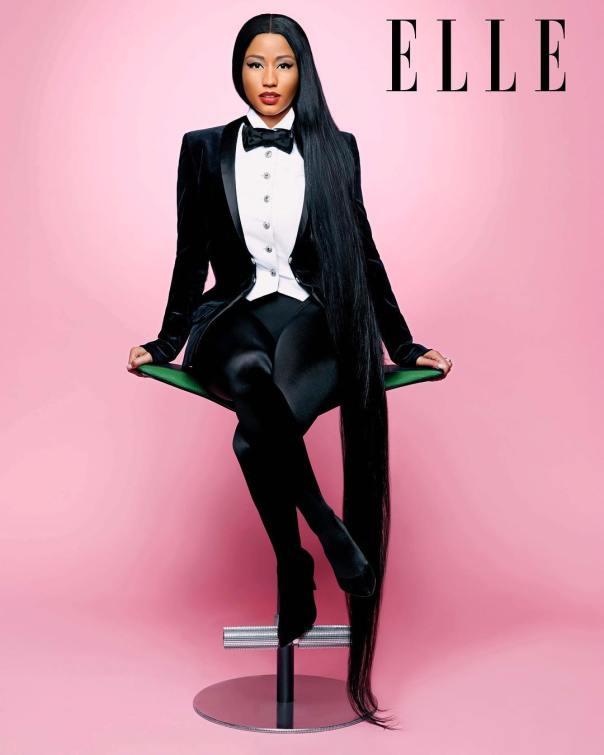 Nicki Minaj Covers Elle Magazine (5)