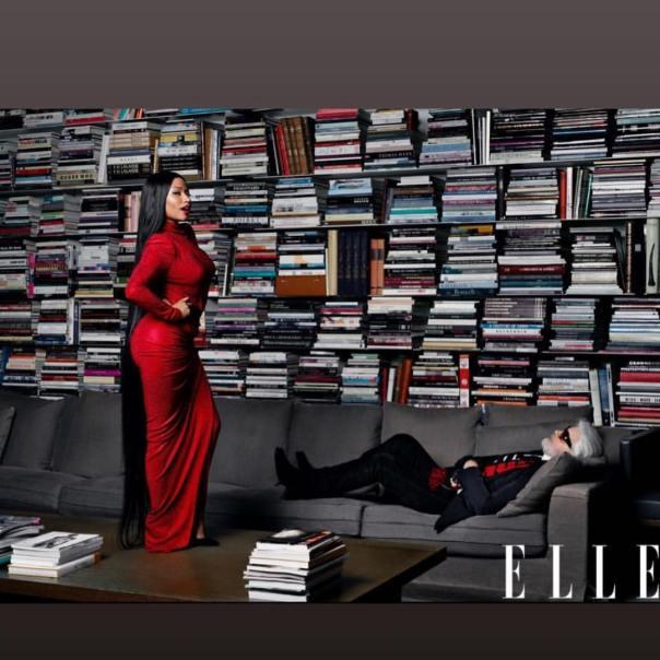 Nicki Minaj Covers Elle Magazine (2)