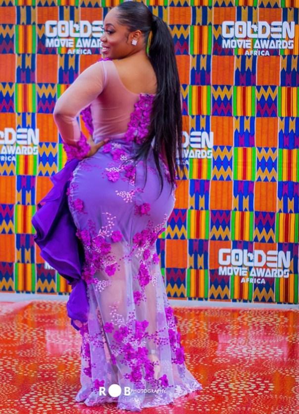 Moesha Boduong At 2018 Golden Movie Awards Africa (3)