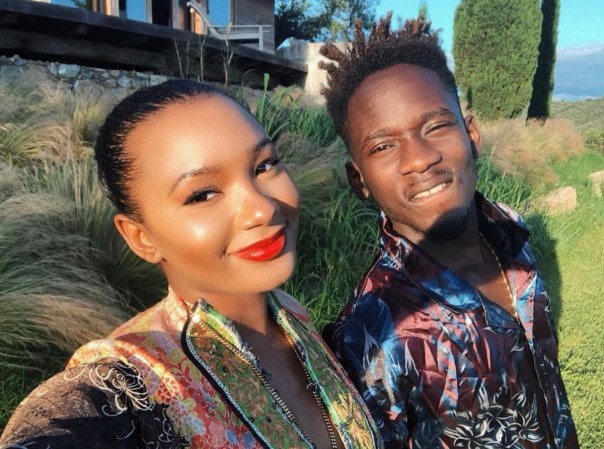 Mr Eazi With Girlfriend Temi Otedola