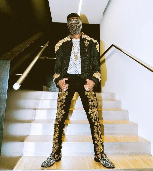 Wizkid Dolce & Gabbana Runway In Milan (4)
