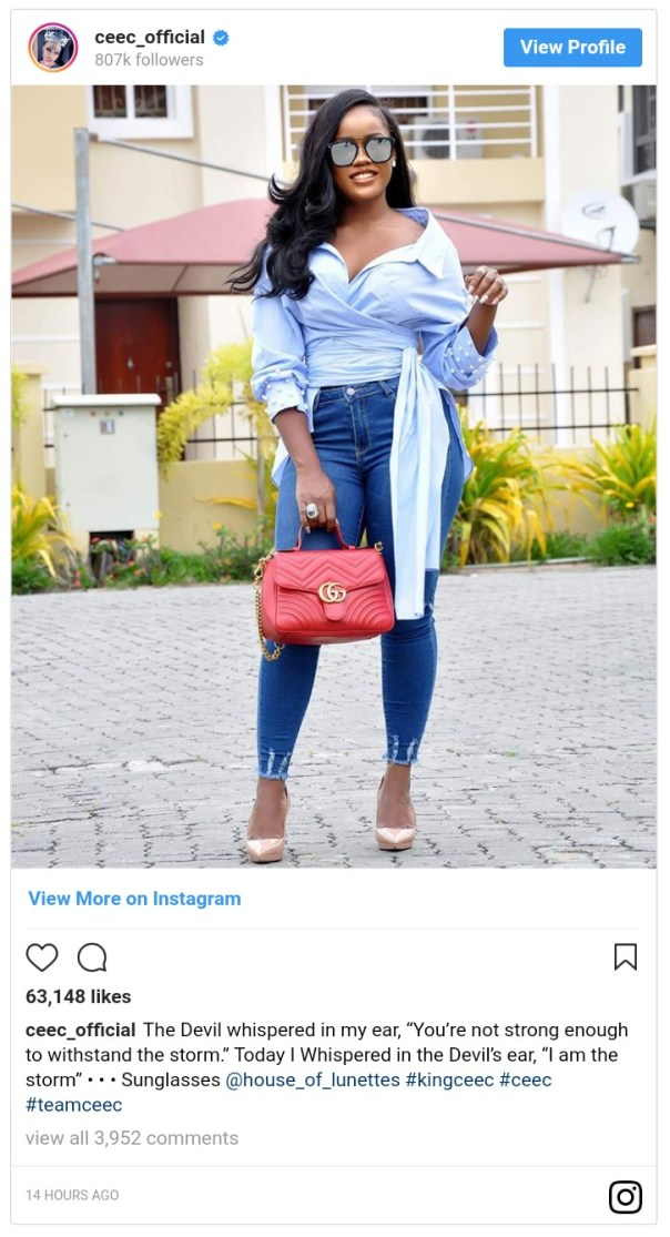 Today I Whispered In The Devil's Ear Cee-C Says (2)