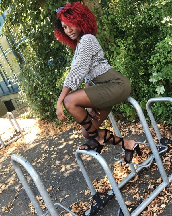 Wendy Shay Shows Off Her Massive Behind