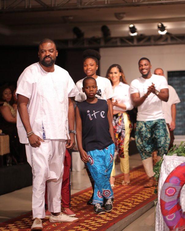 Caroline Danjuma Walks The Runway Ire Clothings With Tobi Bakre (7)