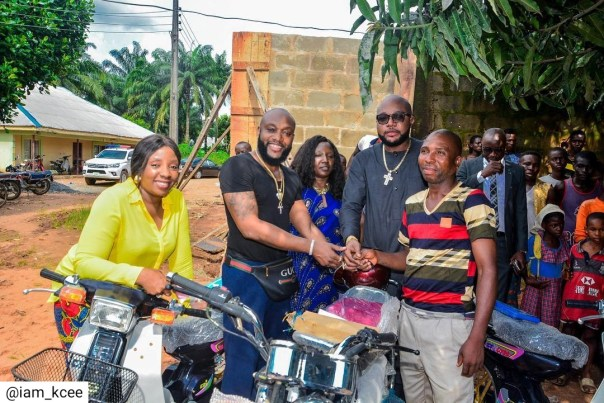 Kcee And E-money Give Out Car And Motorcycles (7)