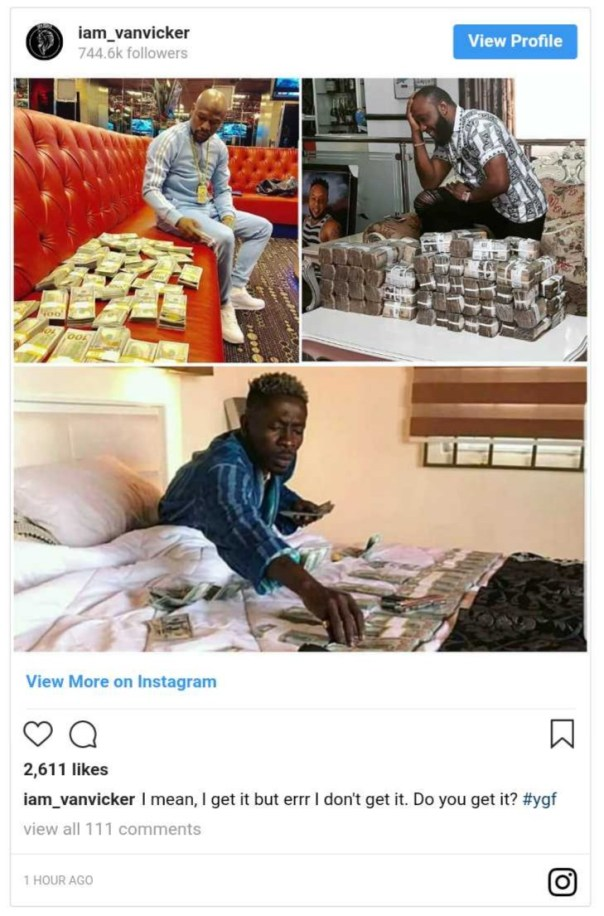Why Kcee And Shatta Wale Flash Wads Of Cash (2)