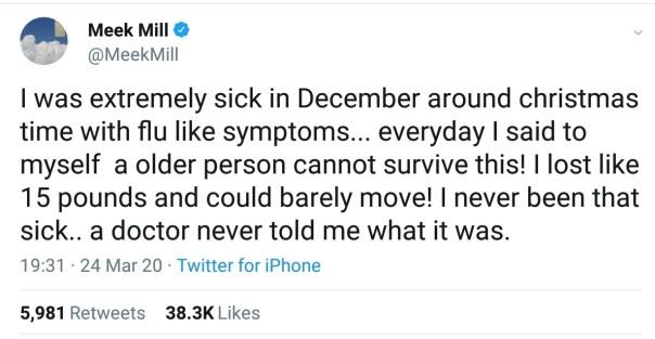 Meek Mill Sick Flu Like Symptoms (2)