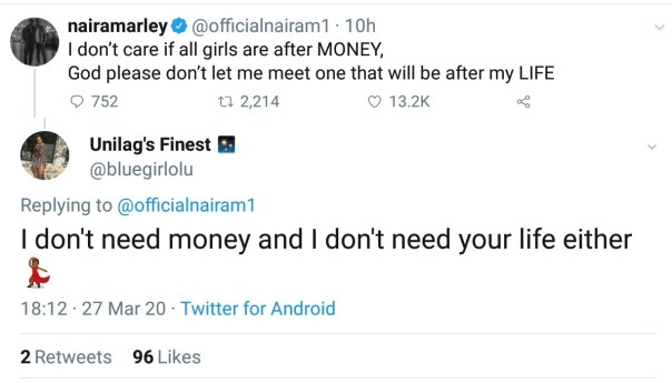Naira Marley Doesn't Want To Meet Any Girl After His Life (2)