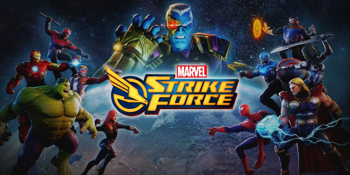 新たなソーシャルゲーム『マーベル ストライク・フォース』を発表!