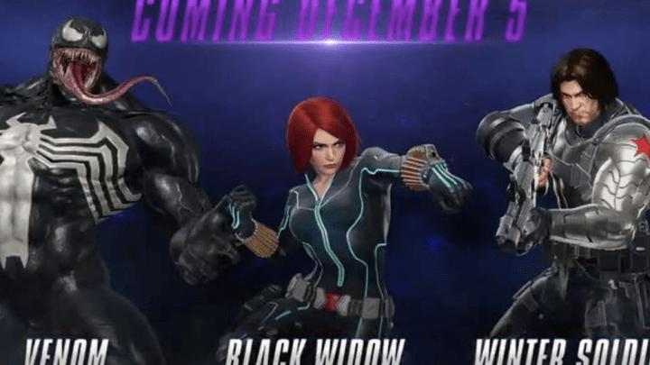 『マーベル vs カプコン:インフィニット』の追加キャラ「ヴェノム」「ウィンター・ソルジャー」「ブラック・ウィドウ」のトレーラーが公開!