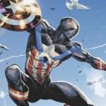 マーベルのヒーロー達が『キャプテン・アメリカ』になるヴァリアントカバーから『マイルズ・モラレス』と『ムーンナイト』が公開