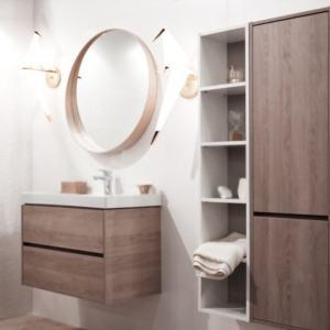 muebles de baño con fregadero