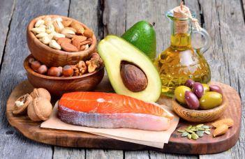 alimentos con grasas vegetales y animales