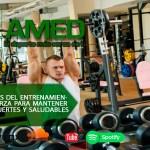 Podcast 397 AMED – Beneficios del entrenamiento de fuerza para mantener huesos fuertes y saludables