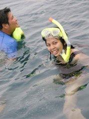snorkeling @ postpone island