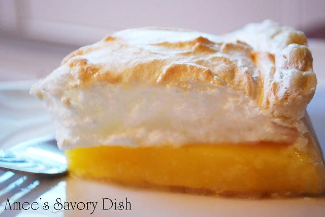 Orange Meringue Pie recipe
