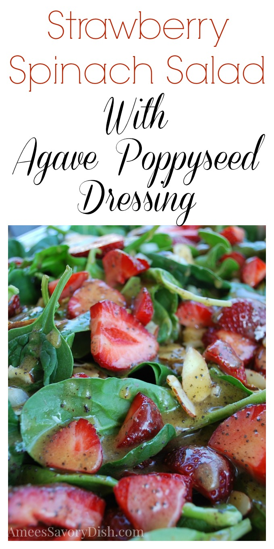 Strawberry Spinach Salad 2