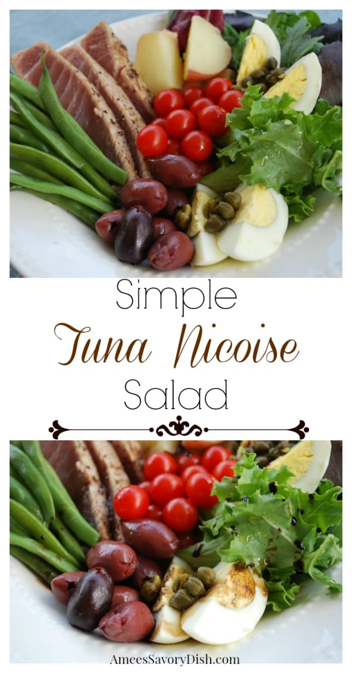 Simple Tuna Nicoise Salad