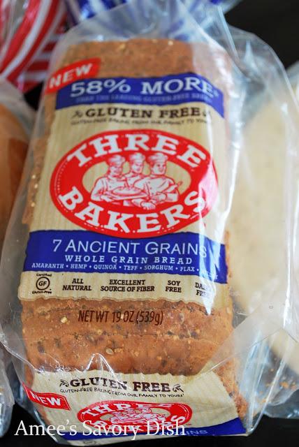 Three Bakers gluten-free bread