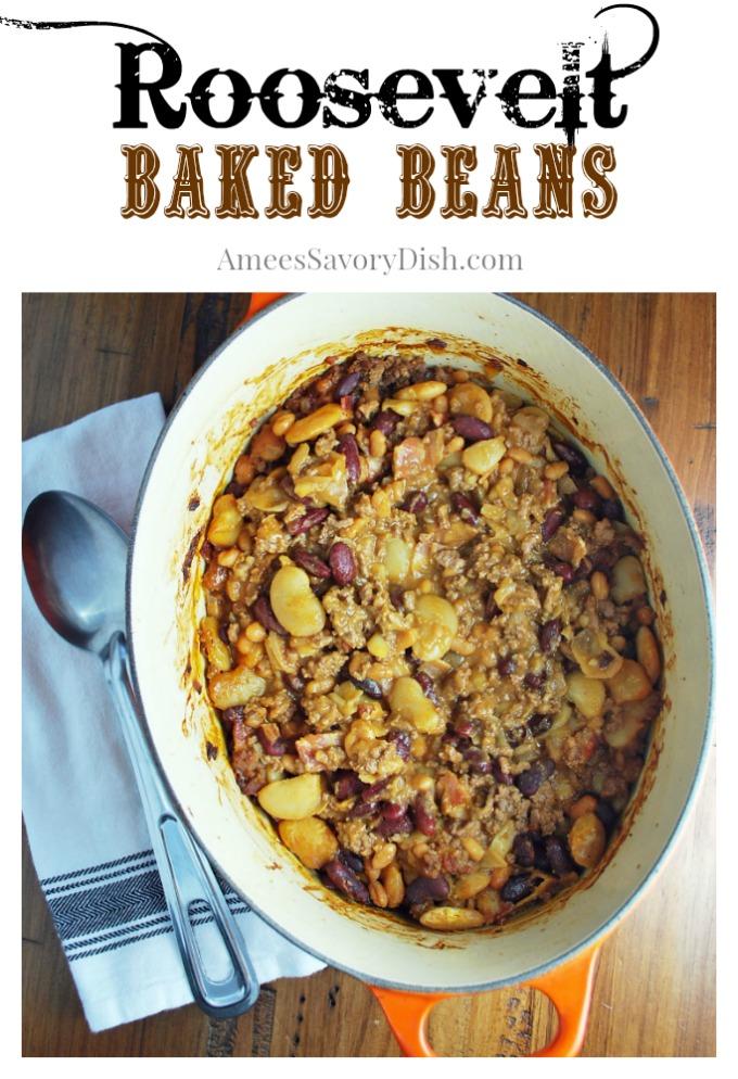 Roosevelt Baked Beans recipe