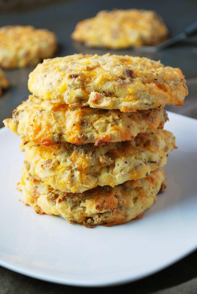 Keto Diet-Friendly Savory Breakfast Cookies recipe