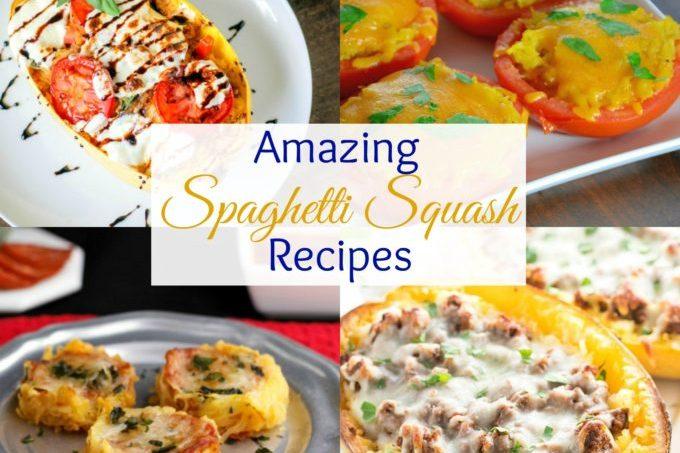 Amazing Low Carb Spaghetti Squash recipes