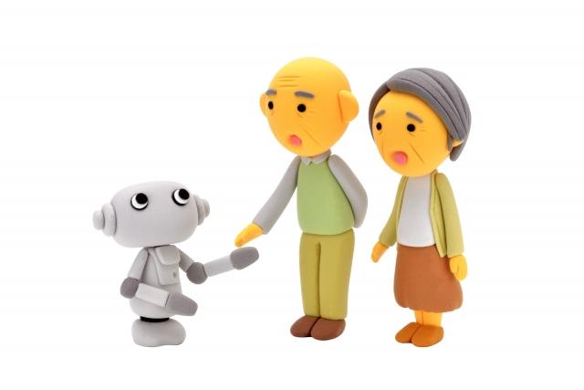 ロボットとヒト