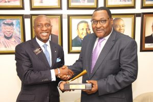 Nigerian Shippers Council Closing Gong Ceremony