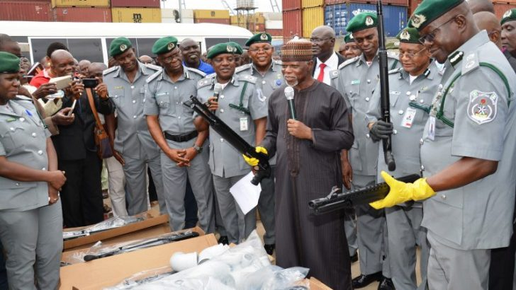 How shipping companies import illicit firearms into Nigeria – Customs boss