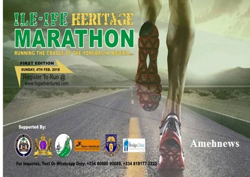 Ile-Ife Heritage Marathon Underway On Sunday February 4th,  2018