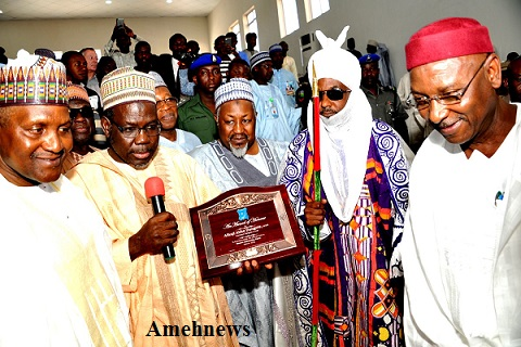 DANGOTE DONATES N1.2 BILLION FIRST BUSINESS SCHOOL IN THE NORTH TO BAYERO UNIVERSITY, KANO