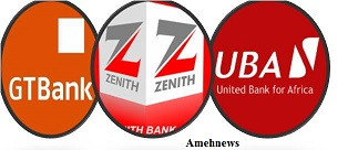 Zenith Bank, GT Bank and UBA accounts for 491.649mn shares out of total turnover of 1.457 bn shares for the week