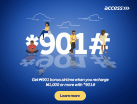 Access advert banner