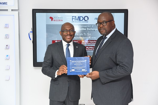 FMDQ set to improve Housing Sector, Admits Mixta Real Estate PLC Bonds and Commercial Papers to its Platform