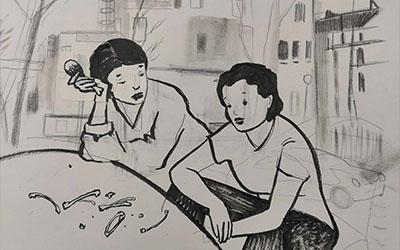 Matilde Tricarico homenajea a Rita Levi Montalcini.#8M
