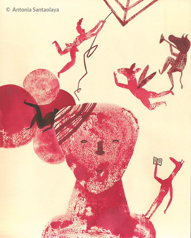 ilustracion de Antonia Santaolaya AMEIS
