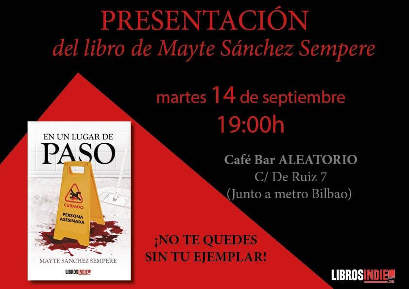 Presentación del libro de Mayte Sánchez Sempere