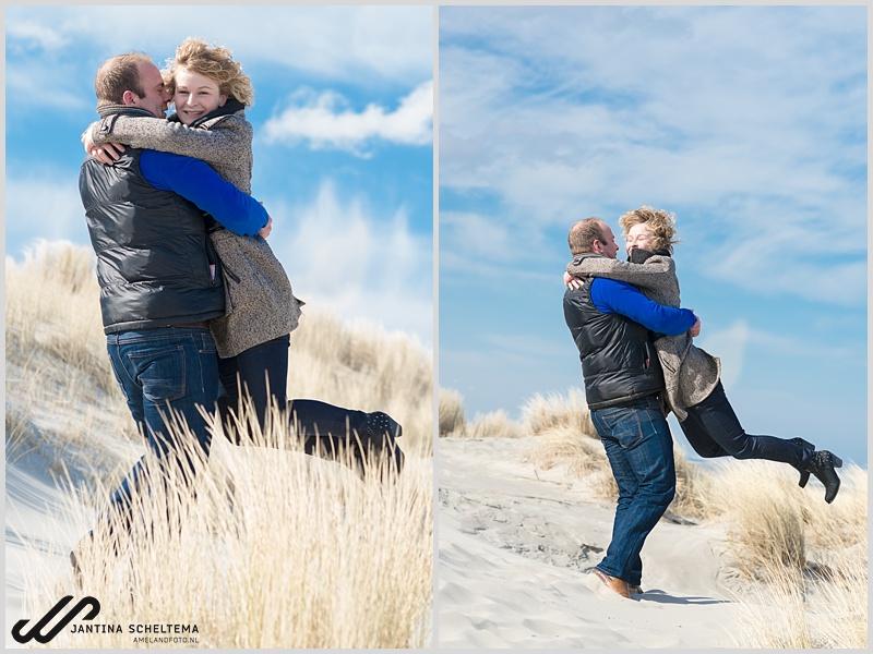 Loveshoot fotoshoot Ameland