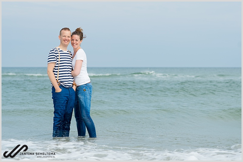 Friesland strand Ameland