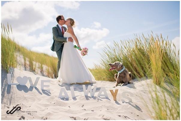 huisdier op je bruiloft