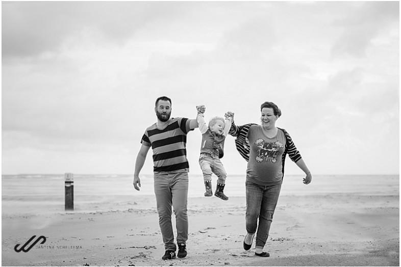 familiefoto op Ameland