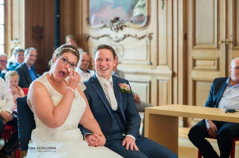 bruiloft stadhuis Leeuwarden
