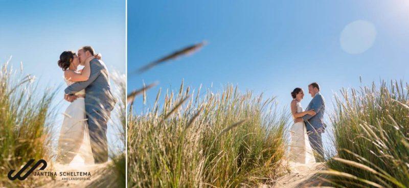 trouwen in de duinen
