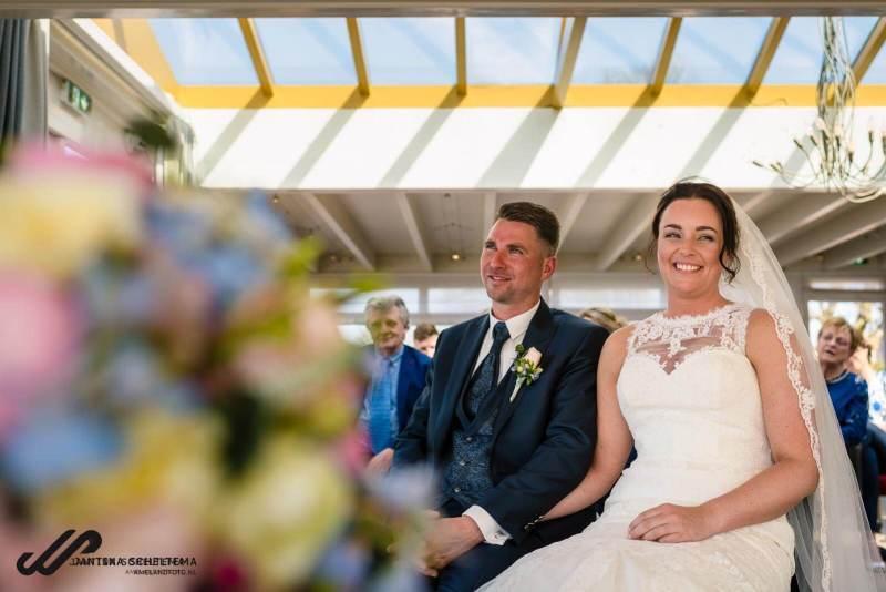trouwen bij de Paalkoepel Paterswoldsemeer
