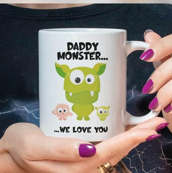 Daddy Monster Mug