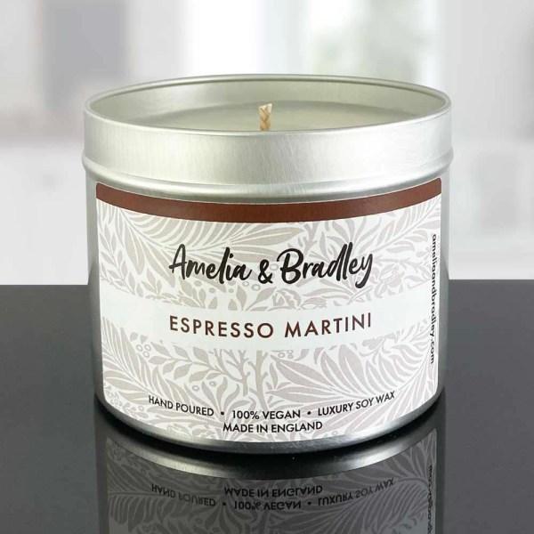 espresso martini soy wax candle