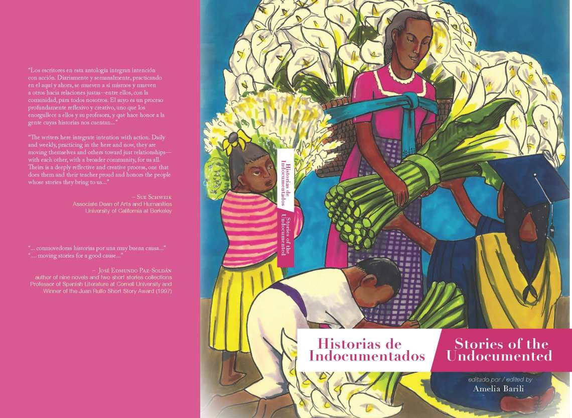Cover of Bilingual Anthology 2015