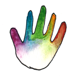 rainbow kindness camp hand
