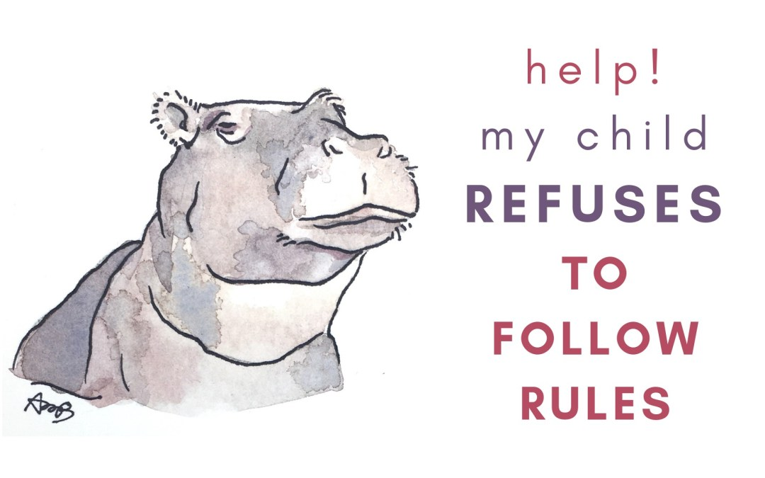 Help! My child refuses to follow the rules